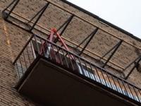 Крыша на балконе?