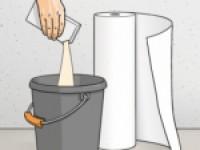 Как правильно наносится клей на обои