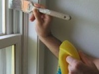 Как правильно покрасить окно?