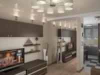 Некоторые решения при дизайне двухкомнатных квартир