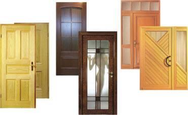 Достоинства деревянных дверей