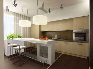 интерьер кухни