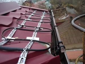 обогрев крыши